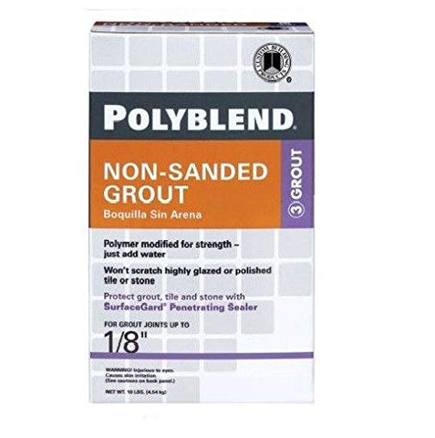 Custom Building Products Polyblend 10 Lb Non-Sanded Tile Grout (BLEACHED WOOD 545)