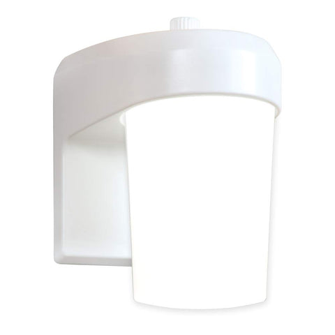 ALL-PRO Outdoor Security FE0650LPCW LED Entry and Patio Light, White