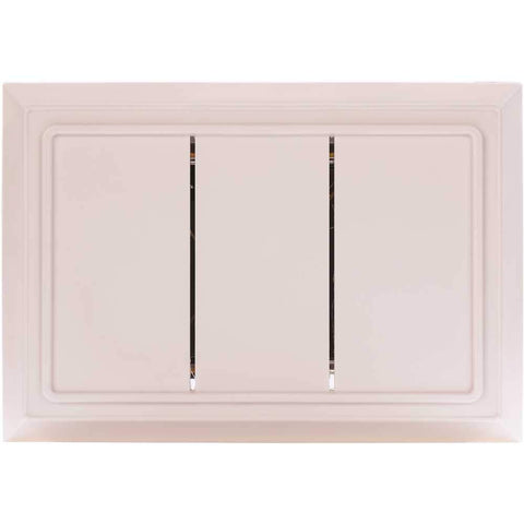 Hampton Bay Wired Door Chime in White