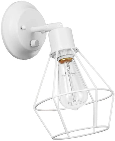 Globe Electric Ramezay 1-Light Plug-in or Hardwire Task Wall Sconce