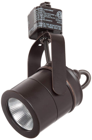 LITHONIA LIGHTING LTIHSPLT 27K ORB M4 Spotlight 1 Oil-Rubbed Integrated LED Track Lighting Head, 7.00x4.13x2.50, Bronze