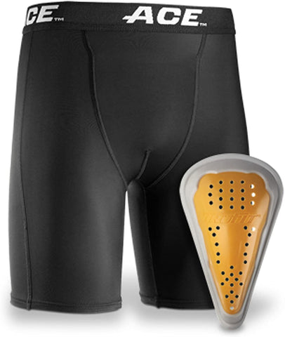 Ace Brand Compression Shorts and Cup, Small/Medium