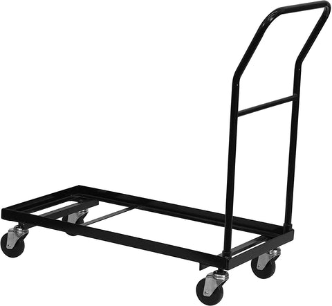Flash Furniture Folding Chair Dolly, HF-700-DOLLY-GG, Black