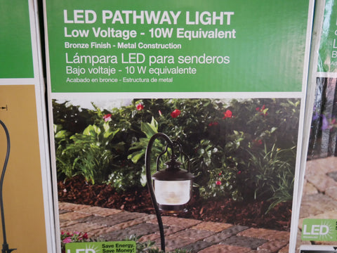 Hampton Bay LED pathway light low volatge 10W equivalent