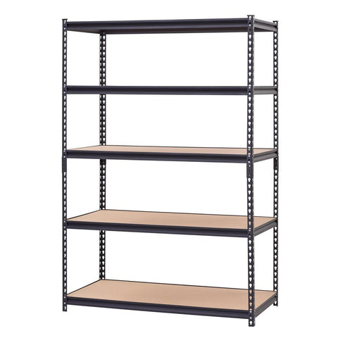Steel Particle Board 5 Tier Industrial Shelving Unit