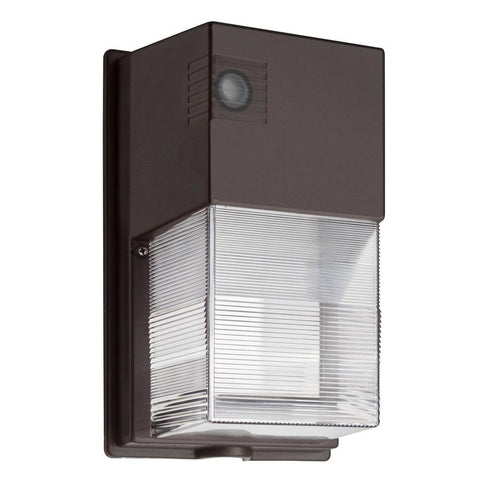 Bronze Outdoor Integrated LED Wall Pack Light