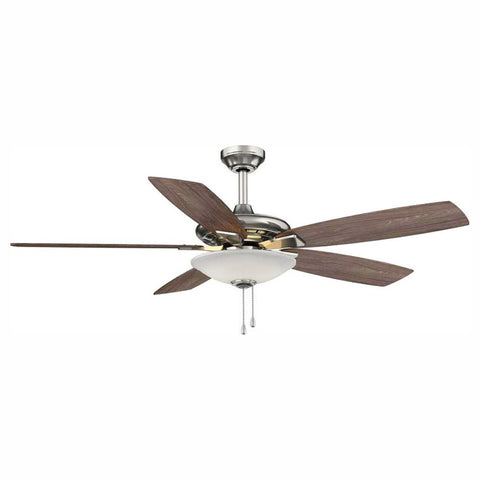 Menage 52 in. Indoor Low Profile Ceiling Fan with Light Kit (USED-LIKE NEW)