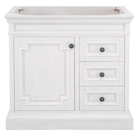 Home Decorators Collection Cailla 36 in. W x 21.50 in. D Bath Vanity Cabinet Only in White Wash