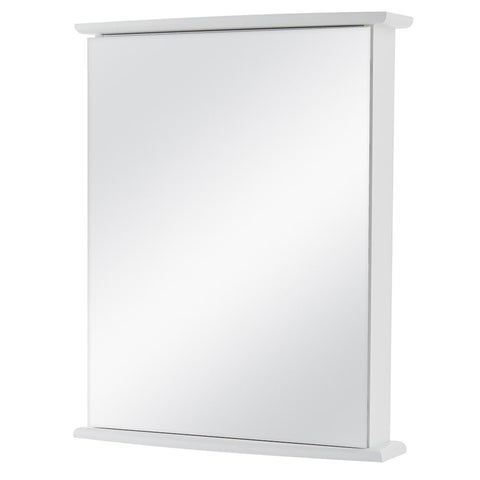 22 in. W x 27-5/8 in. H Fog Free Frameless Surface-Mount Bathroom Medicine Cabinet in White