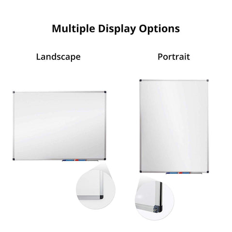 Launchpad Liquidation 48 x 36 Inch Large Magnetic Dry Erase Board