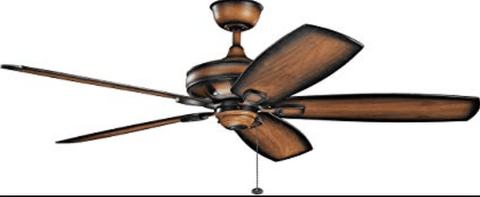 "Launchpad Liquidation appliances Kichler 60"" Ashbyrn Ceiling Fan"