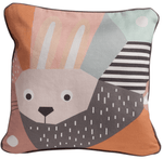 Launchpad Liquidation Baby Product Rabbit Nursery Works Organic Throw Pillow