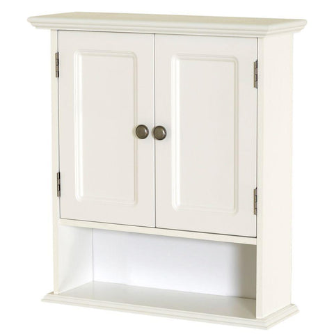 Launchpad Liquidation Collette 21-1/2 in. W x 24 in. H x 7 in. D Bathroom Storage Wall Cabinet in White