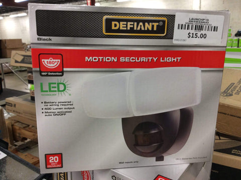 Launchpad Liquidation Defiant Motion Security LED Light Black
