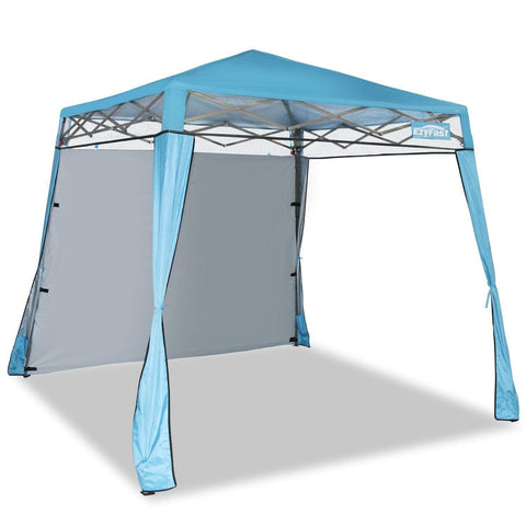 Launchpad Liquidation EzyFast Elegant Pop Up Beach Shelter, Compact Instant Canopy Tent, Portable Sports Cabana, 7.5 x 7.5 ft Base / 6 x 6 ft top for Hiking, Camping, Fishing, Picnic