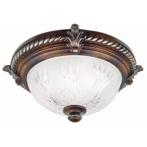 Launchpad Liquidation Hampton Bay Bercello Estates 15 in. 2-Light Volterra
