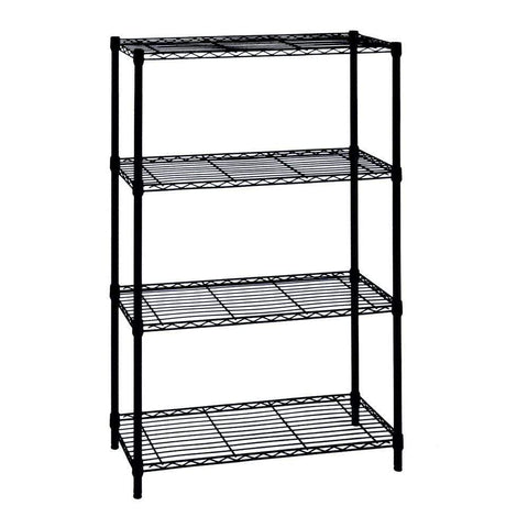 Launchpad Liquidation HDX 4-Shelf Storage Rack 36x14x54