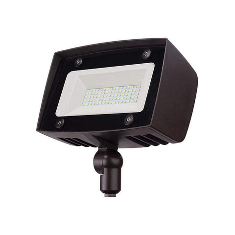 Launchpad Liquidation High-output Architectural Dark Bronze Outdoor Integrated Led Flood Light