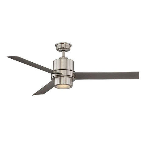 Launchpad Liquidation Home Decorators Collection LED 52 in. Brushed Nickel Ceiling Fan