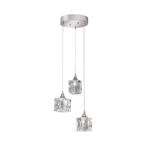 Launchpad Liquidation Lighting 3-Light LED Pendant