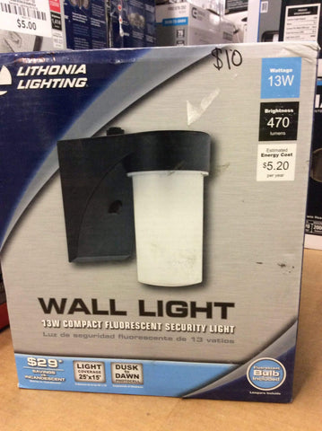 Launchpad Liquidation Lithonia Lighting Wall Light