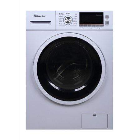 Magic Chef 2.0 cu. ft. All in One Washer and Ventless Dryer Combo in White - Launchpad Liquidation