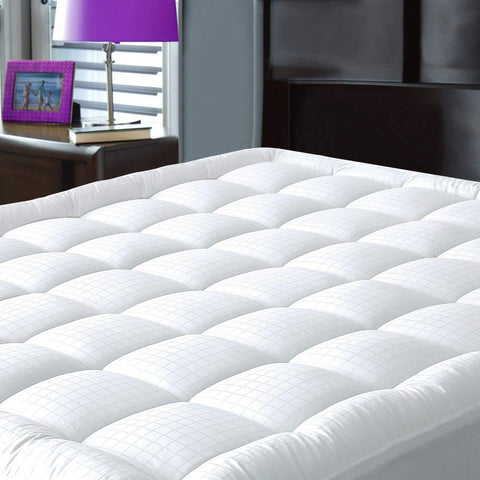 Launchpad Liquidation Pillowtop Olympic Queen Mattress Pad Cover