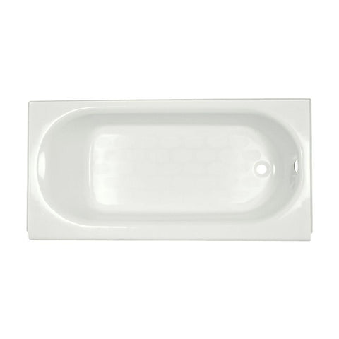Launchpad Liquidation Princeton Recess 60 in. Right Drain Bathtub in White