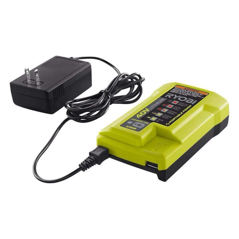 Launchpad Liquidation RYOBI 40V Lithium BATTERY CHARGER ONLY