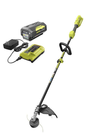 Launchpad Liquidation RYOBI 40v string trimmer Battery and charger included