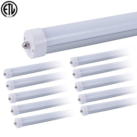 Launchpad Liquidation T8 8ft LED Garage Lights (Replacement Bulbs) 4pk