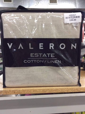 Valeron 1 Rod Pocket Panel with Weighted Corners Cotton - Launchpad Liquidation