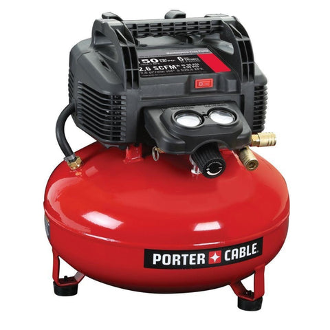 Porter-Cable 6 Gal. 150 Psi Portable Electric Pancake Air Compressor
