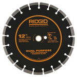 Ridgid 12 in. Dual-Purpose Diamond Blade