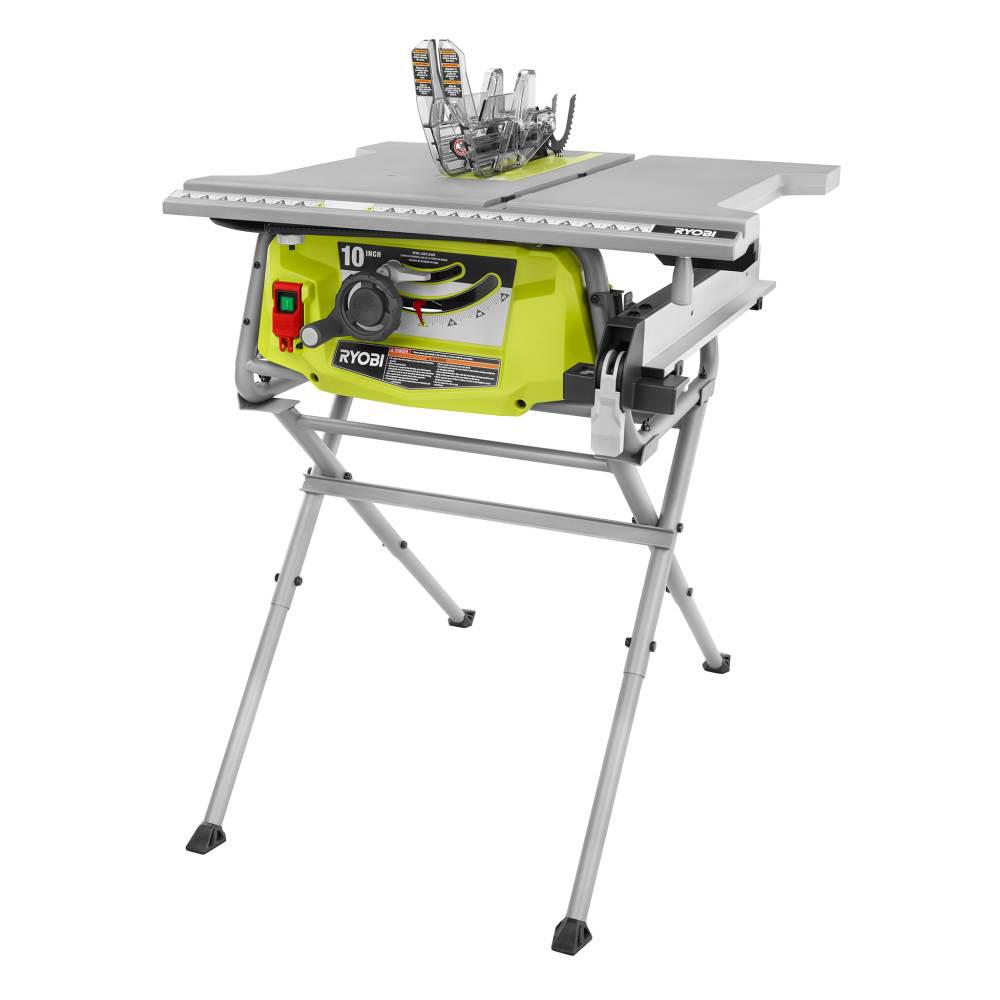 - 15 Amp 10 In. Table Saw With Folding Stand – Launchpad Liquidation
