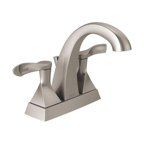Everly 4 in. Centerset 2-Handle Bathroom Faucet in SpotShield Brushed Nickel (0) Write the First Review Questions and Answers
