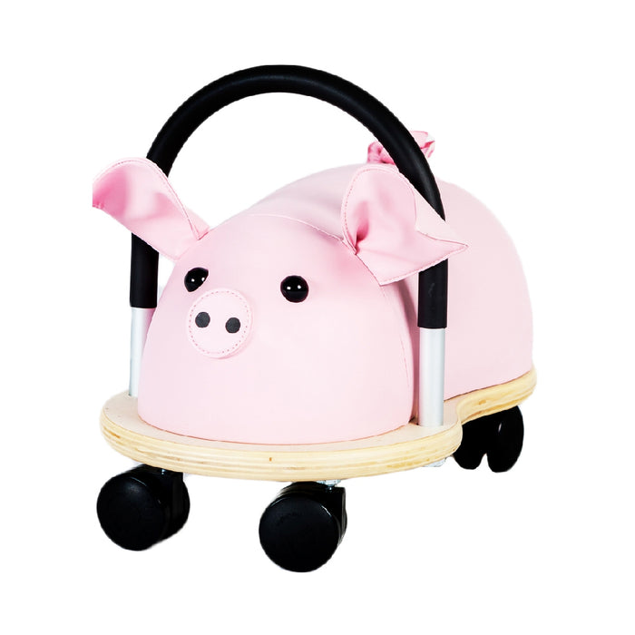 wheely bugs small pig ride on hero