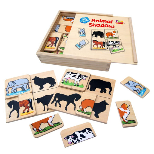 Animal Shadow - 36 pcs
