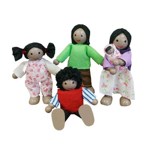 Doll Family - African / 4 pcs