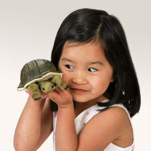 Mini Turtle Finger Puppet