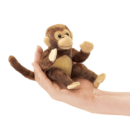 Mini Monkey Puppet Finger Puppet