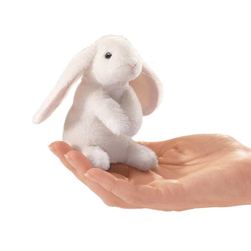 Mini Lop Ear Rabbit Finger Puppet