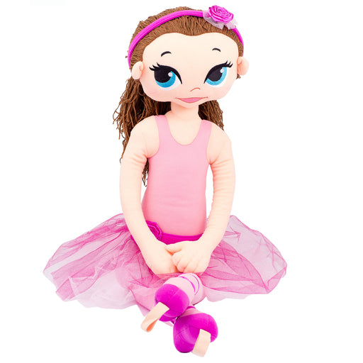 Dancing Doll - Violet / 37 Inch / Peach Brunette