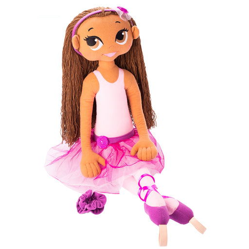 Dancing Doll - Indigo / 37 Inch / Brown Brunette