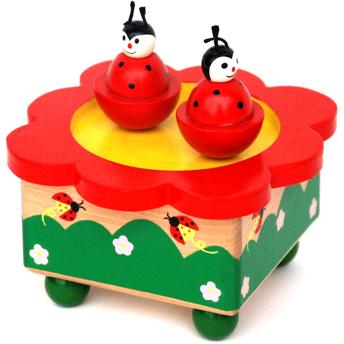 Music Box - Spinning Ladybirds