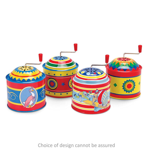 Tin Music Box - Assorted Colours