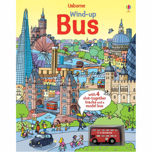 usborne wind up bus puzzle book cover