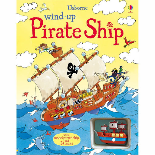 usborne wind up pirate ship book cover