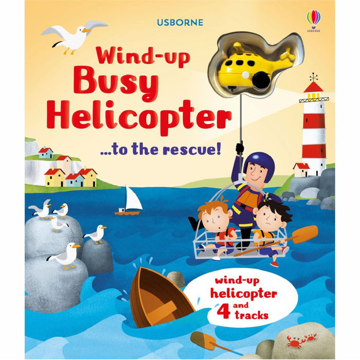 usborne wind up busy helicopter book cover