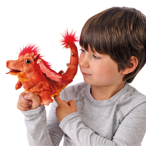 Fire Dragon Puppet